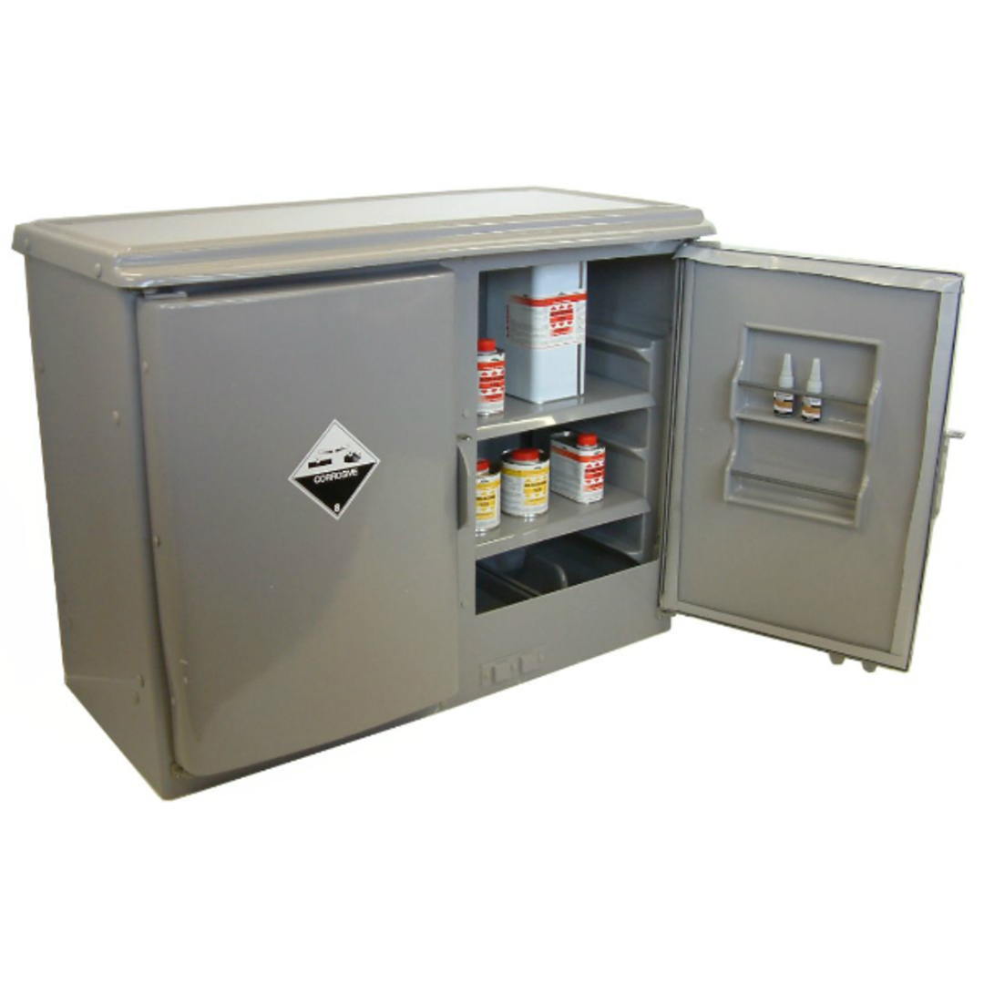 140 Litre Corrosive Dangerous Goods Cabinet image 0