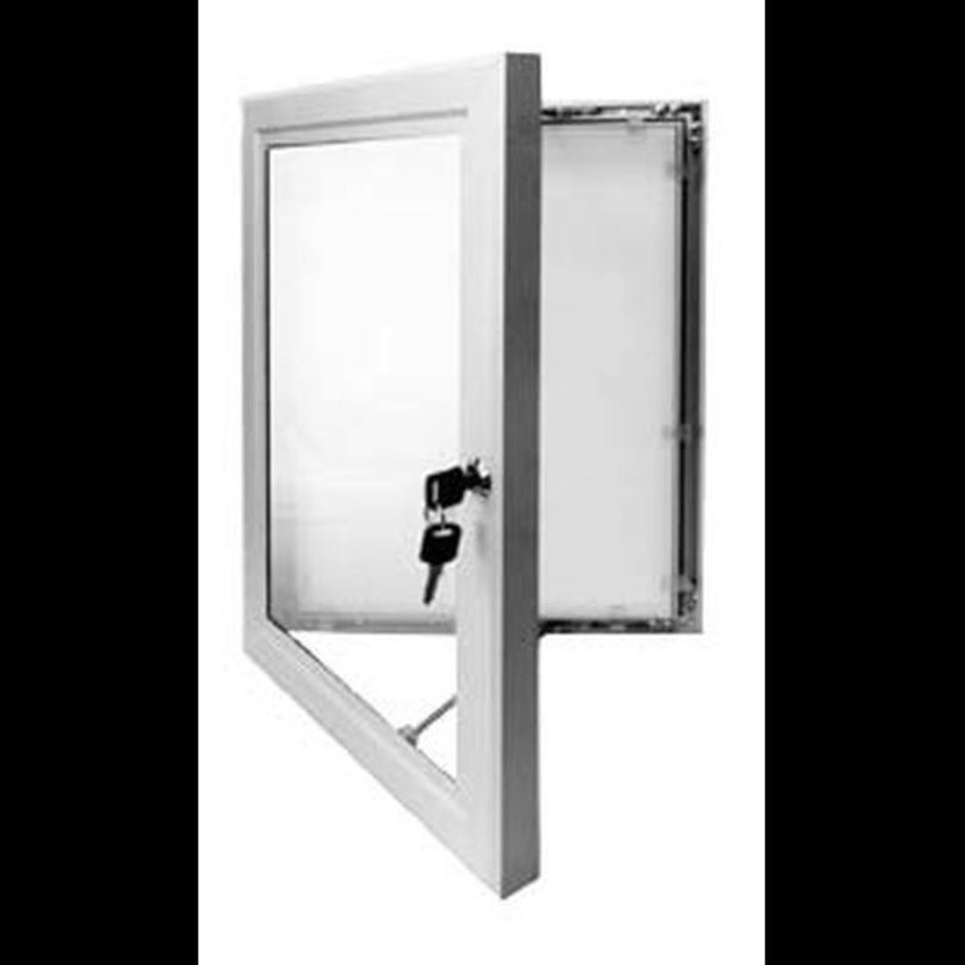 A3 Outdoor Lockable Poster Frame image 0