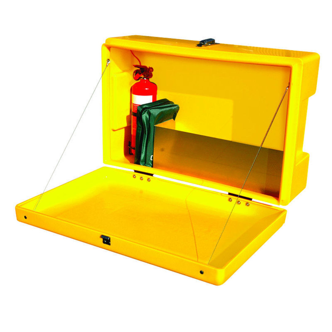 Site Safety Box Yellow image 1