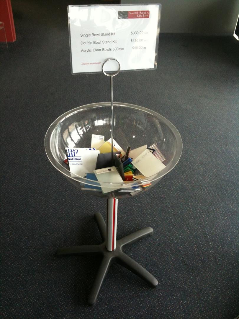 Single Bowl Stand Set image 0