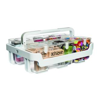 Stackable Caddy Organiser with 3 Containers