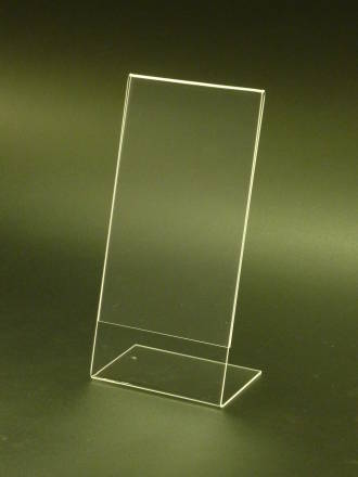 DLE Portrait Slanted Leanback Menu Holder