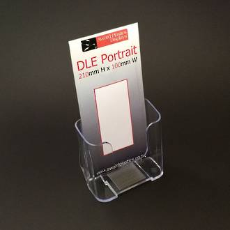 DLE Single Pocket Brochure Holder