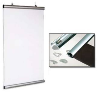 (84594) Aluminium Snap Rail Poster Hanging Kit, 594mm