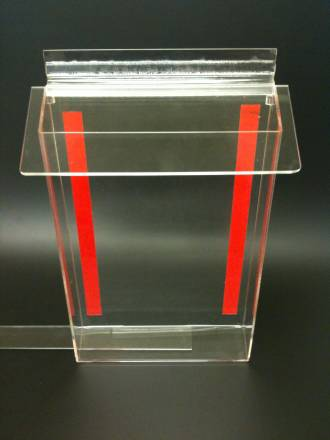 A4 Outdoor Brochure Holder Clear Lid