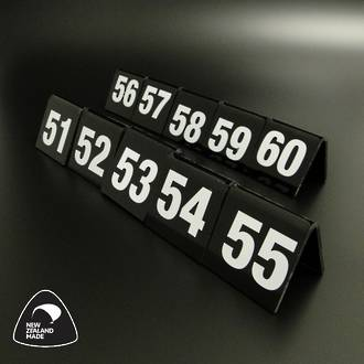 Black Table Numbers 51-60