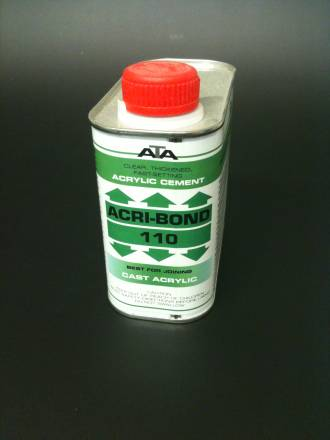 110 Acribond 0.5L Tin Solvent Adhesive