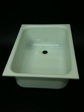 Caravan Large Sink B White