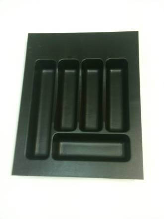 Cutlery Tray Black 380x485mm Small