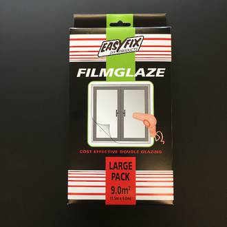 Filmglaze DIY Double Glazing 9m2 Pack