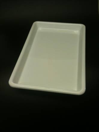 (Offal-50-B) Offal Dish White 50mm