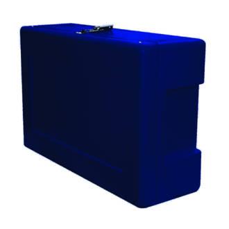 Site Safety Box Deep Blue