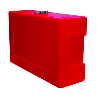 Site Safety Box Red