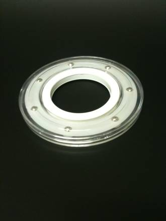 140mm Clear Small Turntable
