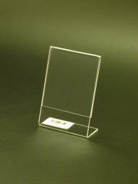 A7 Portrait Slanted Leanback Menu Holder