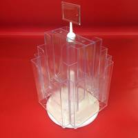 A4x8 Benchtop Revolving Brochure Holder