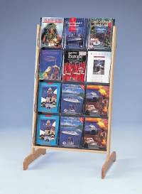 "(58541) ""Stand-Tall"" Literature Rack, 12 x A4, Easel"