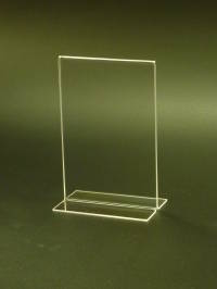 (69101) Stand-up Menu/Sign Holder, 127mm (W) x 178mm (H)