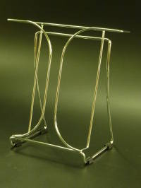 (78145) Chrome Wire Brochure Holder, A4