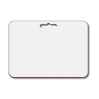 (81304) Dry Erase Blank Whiteboard A3