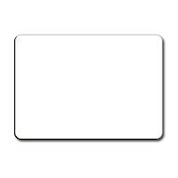 (81404) Dry Erase Blank Whiteboard A4