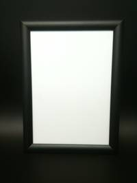 A2 Black Square 25mm Snap Frame