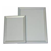 A4 Silver Square 30mm Wide Snap Frame