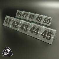 Clear Table Numbers 41-50