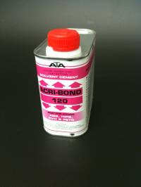 120 Acribond 0.5L Tin Solvent Adhesive
