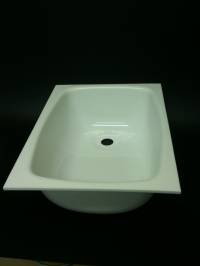 Caravan Large Sink A White