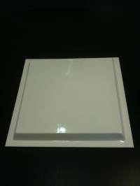 Caravan Vent Large ABS White