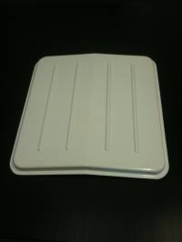 Caravan Vent Lightweight ABS White