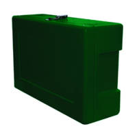 Site Safety Box Dark Green