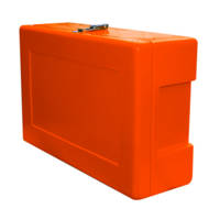 Site Safety Box Orange