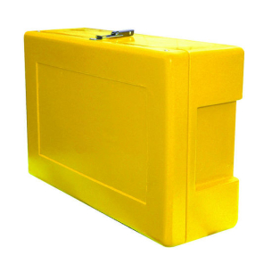 Site Safety Box Yellow