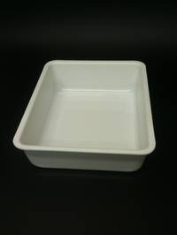(Tray-001-ABSW) Tray 001 White