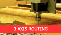 3 axis routing