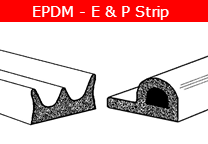 EPDM E and P Strip