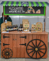 Wigram Brewery Farmers Market Stand