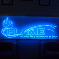 LED Flame Sign