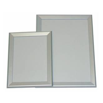 A1 Silver Square 30mm Wide Snap Frame