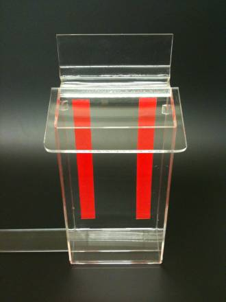 Dle Outdoor Brochure Holder Clear Lid Outdoor