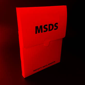 MSDS Soft Pouch Red