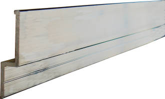 Lit Loc Aluminium Wall Mount Bar 670mm
