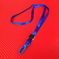 10mm Blue Lanyard with Clip (for 5204)
