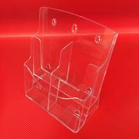 DLE 2-Wide x 2-Tier (4 Pocket) Brochure Holder