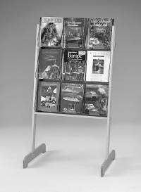 "(58531) ""Stand-Tall"" Literature Rack, 9 x A4, Easel"