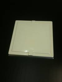 Caravan Vent Small ABS White